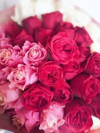 バラの花束  50本 - ブランシュのはなたち