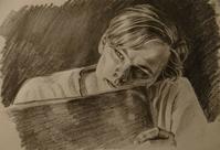 映画のワンシーン - 鉛筆と遊ぶ