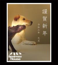 2021_謹賀新年 - Sparrow House diary