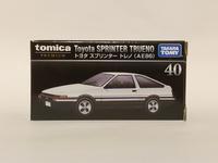 タカラトミー・トミカプレミアム40 トヨタ スプリンター トレノ (AE86) - 燃やせないごみ研究所