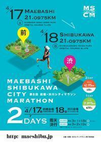 第8回前橋・渋川シティマラソン2日間2会場周回時間差タイムトライアル - しゅんこう日記