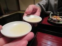 夕食、1月1日、翠の間、俵屋旅館にお邪魔。 - rodolfoの決戦=血栓な日々