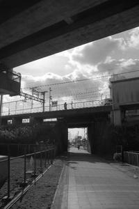 別府鉄道跡に架かる山陽電鉄の橋 - YAJIS OFFICE BLOG
