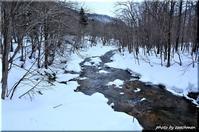 雪の渓 - 北海道photo一撮り旅