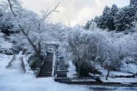 雪景色@福徳寺 - デジタルな鍛冶屋の写真歩記