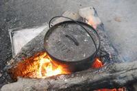 石蒸し焼き芋 - こぴっと ちぴっと