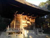 称名寺、新春の夕暮れ - 神奈川徒歩々旅