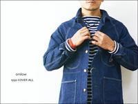 orslow [オアスロウ] 1950 COVER ALL カバーオール [03-6140-81] デニムジャケットMEN'S - refalt blog