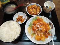 1/5夜勤前飯 和来亭豊田店 海老チリソース定食¥990 - 無駄遣いな日々