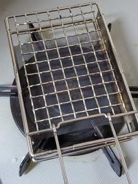 キャンプ用トースターで焼き餅 - おでかけメモランダム☆鹿児島