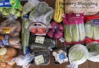 週1あらため3週間に1回の食材まとめ買いと献立(2-23) - Kyoko's Backyard ~アメリカで田舎暮らし~