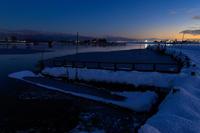 雪の福島潟 - Tom's starry sky & landscape