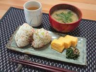 こんぶ茶 de 鮭菜めし - candy&sarry&・・・2