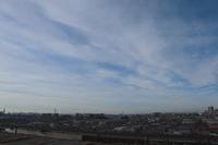 放射状雲(巻雲)ーⅠ - 日々の風景