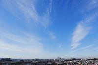 放射状雲(巻雲)ーⅡ - 日々の風景