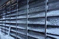 木の外壁と吹雪 - SOLiD「無垢材セレクトカタログ」/ 材木店・製材所 新発田屋(シバタヤ)