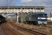 国鉄時代の風景向洋駅(2021/01/08) - まるさん徒歩PHOTO 4:SLやまぐち号・山風景など…。 (2018.10.9~)