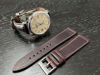 時計のベルト - ゆっくりポタリング