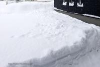 豪雪の朝 - デジタルで見ていた風景