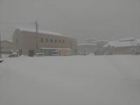 大雪から豪雪へ山中温泉に入らない良いです - 酎ハイとわたし