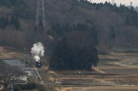 冬里、冬風、白煙- 2020年・真岡鉄道 - - ねこの撮った汽車