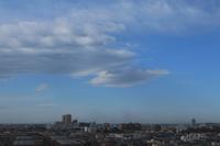 レンズ雲(巻積雲) - 日々の風景