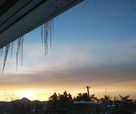 今季一番の冷え込み - 標高480mの窓からⅡ