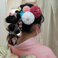 成人式② - ヘアーサロンササキ(釜石市大町)のブログ