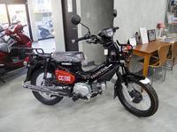 デイトナのホットグリップ - バイクの横輪