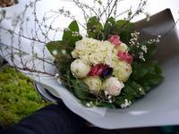 お誕生日の花束。北25条にお届け。2021/01/08。 - 札幌 花屋 meLL flowers