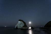 星景写真 夫婦岩と平沢ダム - オヤヂのご近所仲間日記