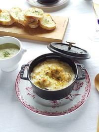 寒い日に食べたい! 牡蠣と長葱のグラタン - キッチンで猫と・・・