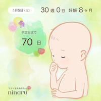 30週の妊婦検診 - 小さな幸せ*