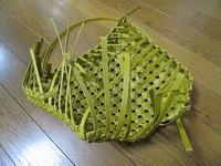 石畳編みの箱、もうひとつのパーツ作り - あれこれ手仕事日記 new!