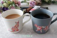 花咲く猫のマグカップ - SABIOの隠れ家