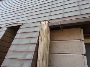 縦樋カバー - 大工さんが木造住宅作ってるよ。
