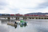 岩国周辺の橋梁(2021/01/11) - まるさん徒歩PHOTO 4:SLやまぐち号・山風景など…。 (2018.10.9~)