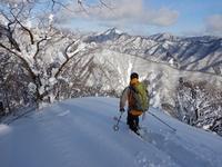 がおろ的BCのご相伴にあずかる…奥美濃・オオダワ - 山にでかける日
