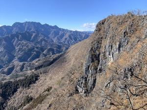 小鹿野町 白石山(毘沙門山)は大展望の秘峰     Mount Hakuseki in Ogano, Saitama  - やっぱり自然が好き