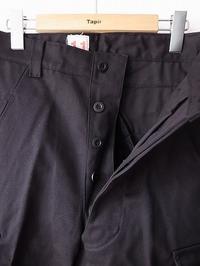 BERJAC M47 アーミートラウザー BLACK - 【Tapir Diary】神戸のセレクトショップ『タピア』のブログです