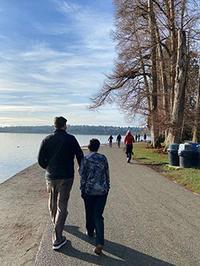 2021年、公園歩き始めはグリーンレイク - くもりのち雨、ときど~き晴れ Seattle Life 3