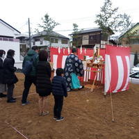 「横浜港北の家」地鎮祭 - OCM一級建築士事務所