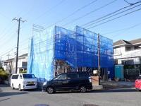 「横浜青葉台の家」上棟 - OCM一級建築士事務所