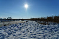 Snow road - デジタルで見ていた風景