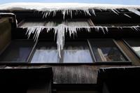 Don't walk under the icicles - フォトな日々