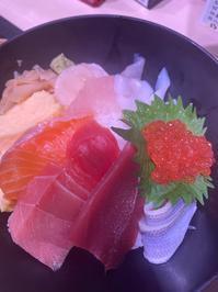 海鮮丼 - 新田裕亮のグルメブログ