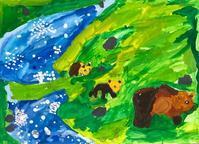 稲沢教室、児童コース、コンクールの絵。1 - 大﨑造形絵画教室のブログ