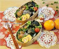海苔大きめおにぎり弁当とふりかけ♪ - ☆Happy time☆