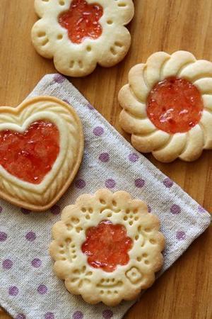 キラキラスタンプジャムクッキー! - Takacoco Kitchen