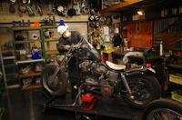 火曜日の授業風景 - Vintage motorcycle study